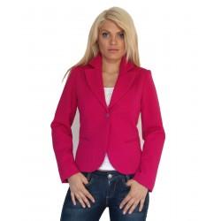 Ежедневно дамско сако цикламен цвят