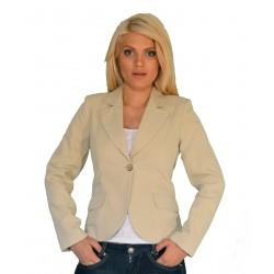 Ежедневно дамско сако бежов цвят