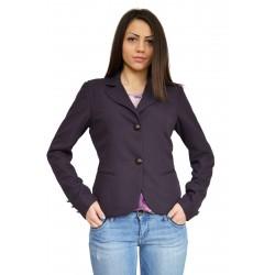Ежедневно дамско сако светло син лилав