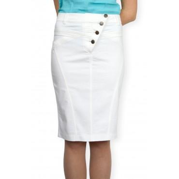 Пола в бяло с копчета модел 2