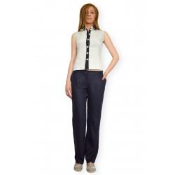 Костюм ленен - блуза и панталон