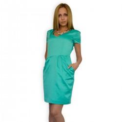 Зелена лятна рокля
