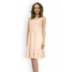 Ефирна лятна рокля без ръкав