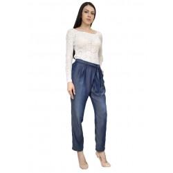 Летен дамски дънков панталон