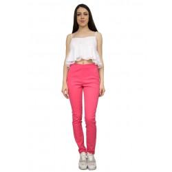 Дамска летен розов панталон