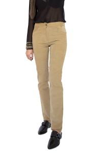 Топъл дамски панталон от рипсено кадифе