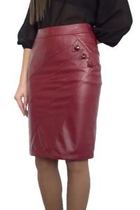 Дамска права кожена пола