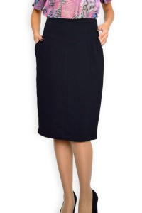 Официална черна дамска пола