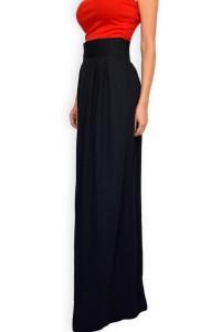 Дълга дамска черна пола