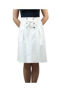 Дамска бяла лятна пола