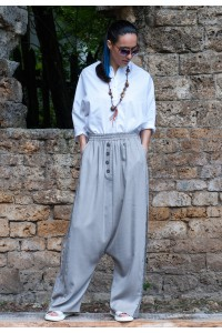 Екстравагантен летен дамски панталон