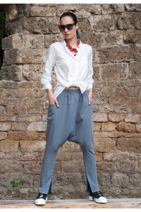Екстравагантен дамски панталон тип потур
