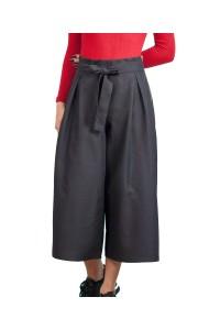 Пола -панталон от плътен памучен плат