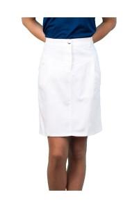 Спортна права лятна бяла пола