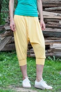 Спортен летен панталон от лек трикотажен плат
