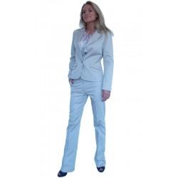 Стилен дамски офис костюм с панталон